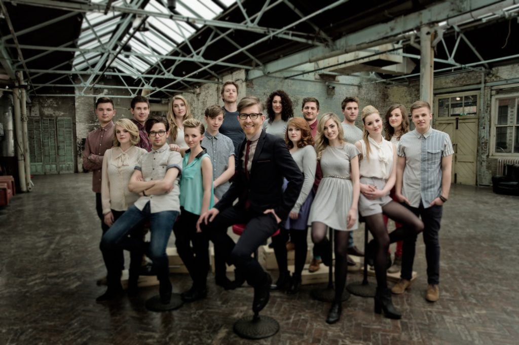 Gareth Malone and Voices Choir Photo by Rob O'Connor