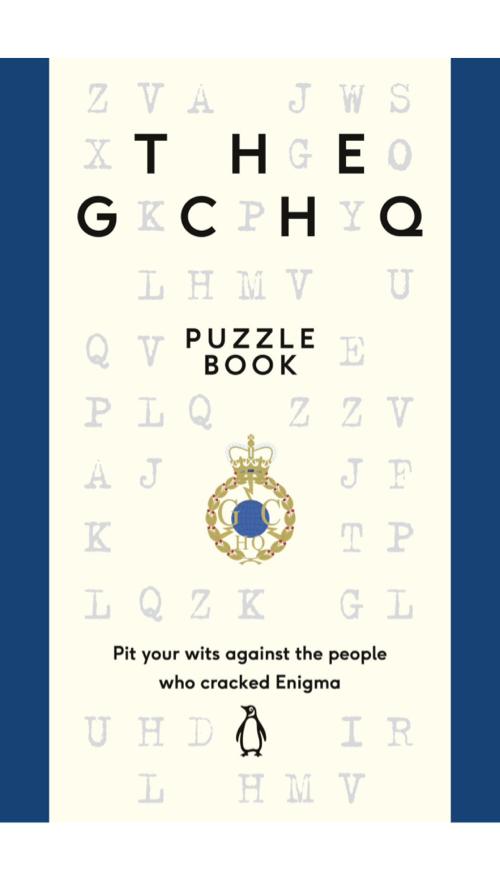 GCHQパズルブック表紙